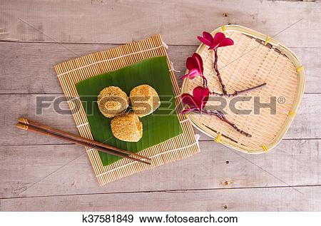 Stock Photograph of Tradisional malaysia deserts k37581849.