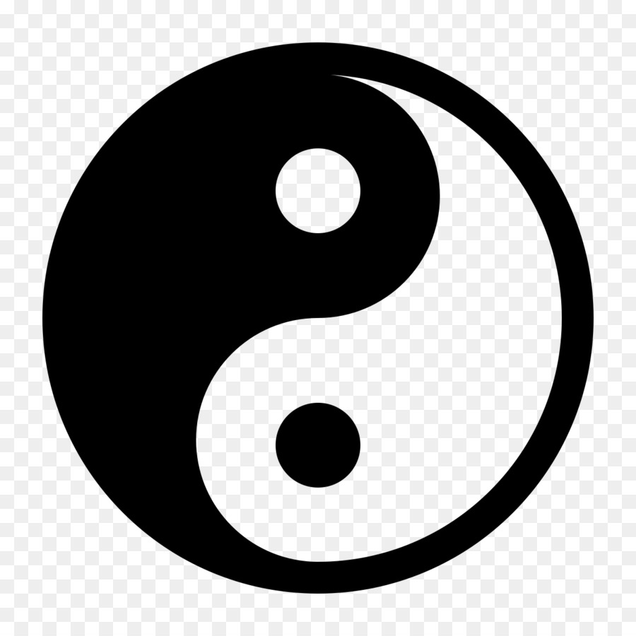 Yin and yang Meaning Traditional Chinese medicine Symbol.