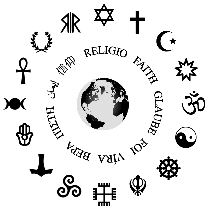 List of religions and spiritual traditions.