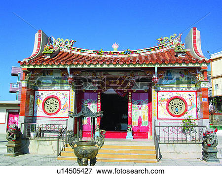 Picture of Formosa, Traditional building, Oriental building.