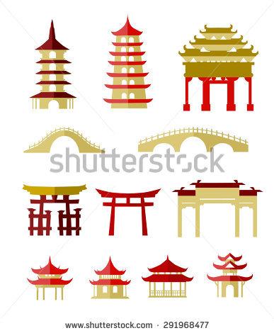 Traditional Building Stock Vectors & Vector Clip Art.
