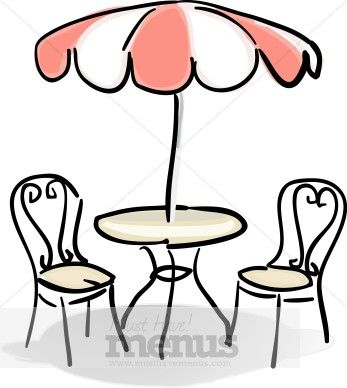 clip art french al fresco.