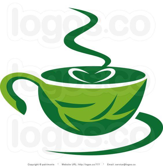 Royalty Free Vector Logo of Green Coffee.