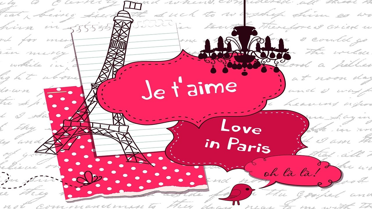 Love in Paris (French Cafe Accordion Traditional Music).
