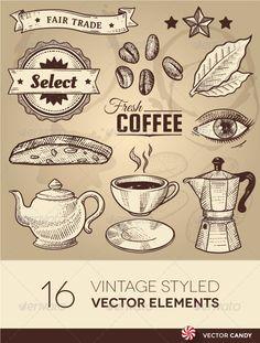 Coffee Shop Menu Flyer.