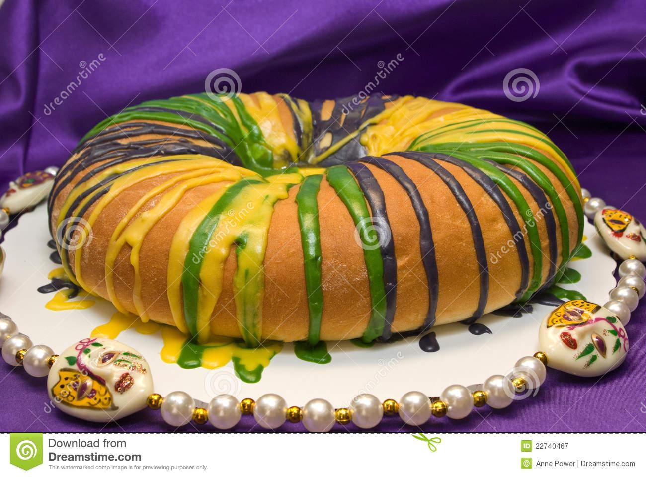 King Cake Clipart.
