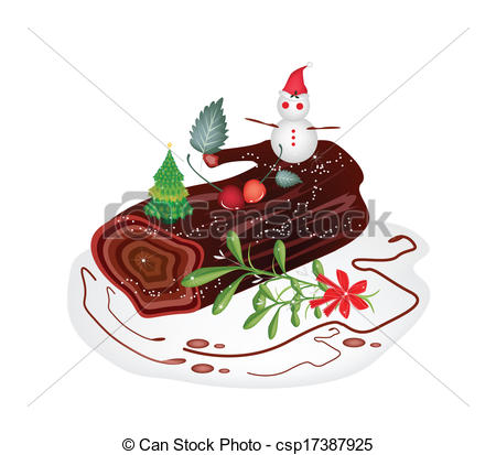 Free christmas cake clipart.