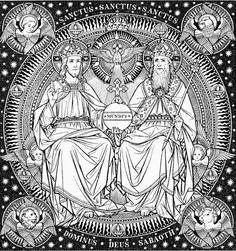 522 Best Catholic line art images.