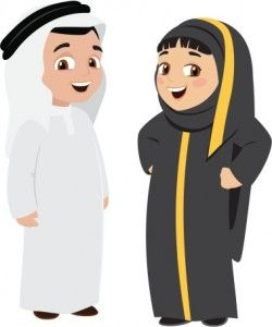 Traditional Clothing in Kuwait & the Gulf.