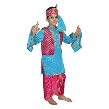 Kaku Fancy Dresses Traditional Punjabi Boy Costume / Bhangra Costume.