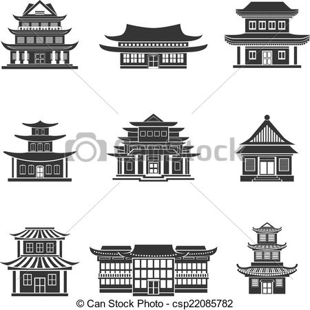 Japanese house Clip Art and Stock Illustrations. 1,324 Japanese.