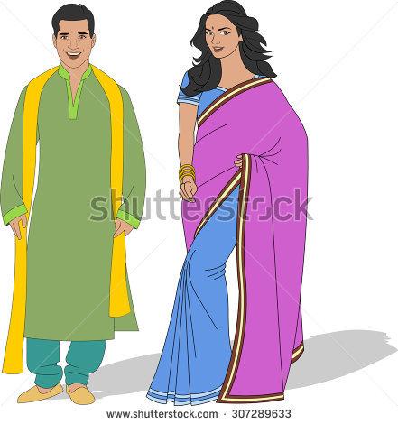 Indian Wear Stock Photos, Royalty.
