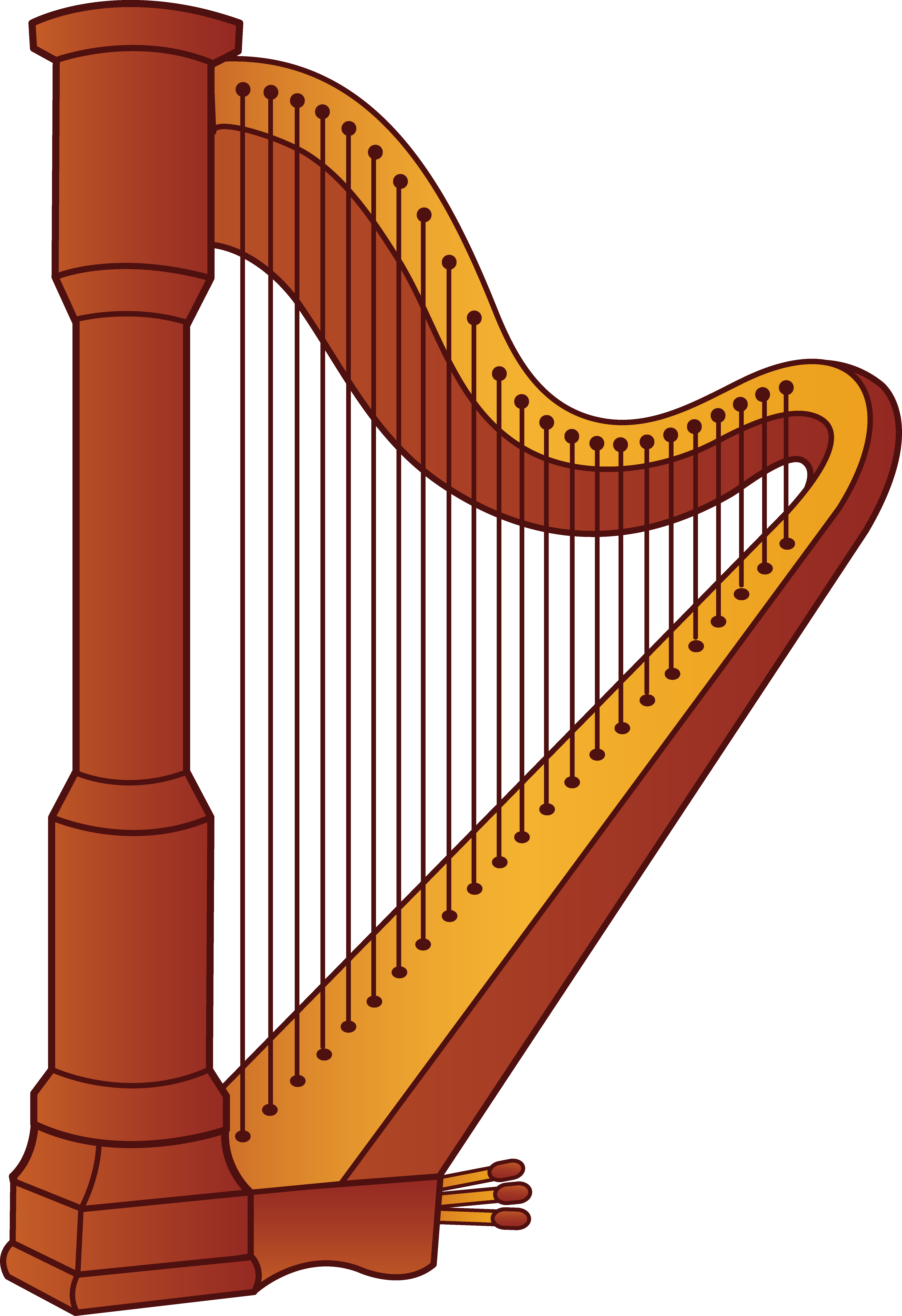 Musical instruments clipart free.