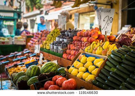 Traditional Market, Vegetables.