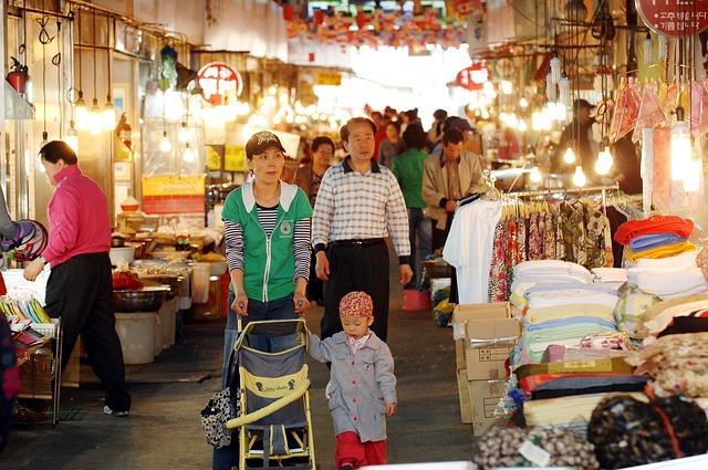 Free photo: Hanam City, Renal Market.