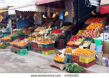 Fresh market clipart.