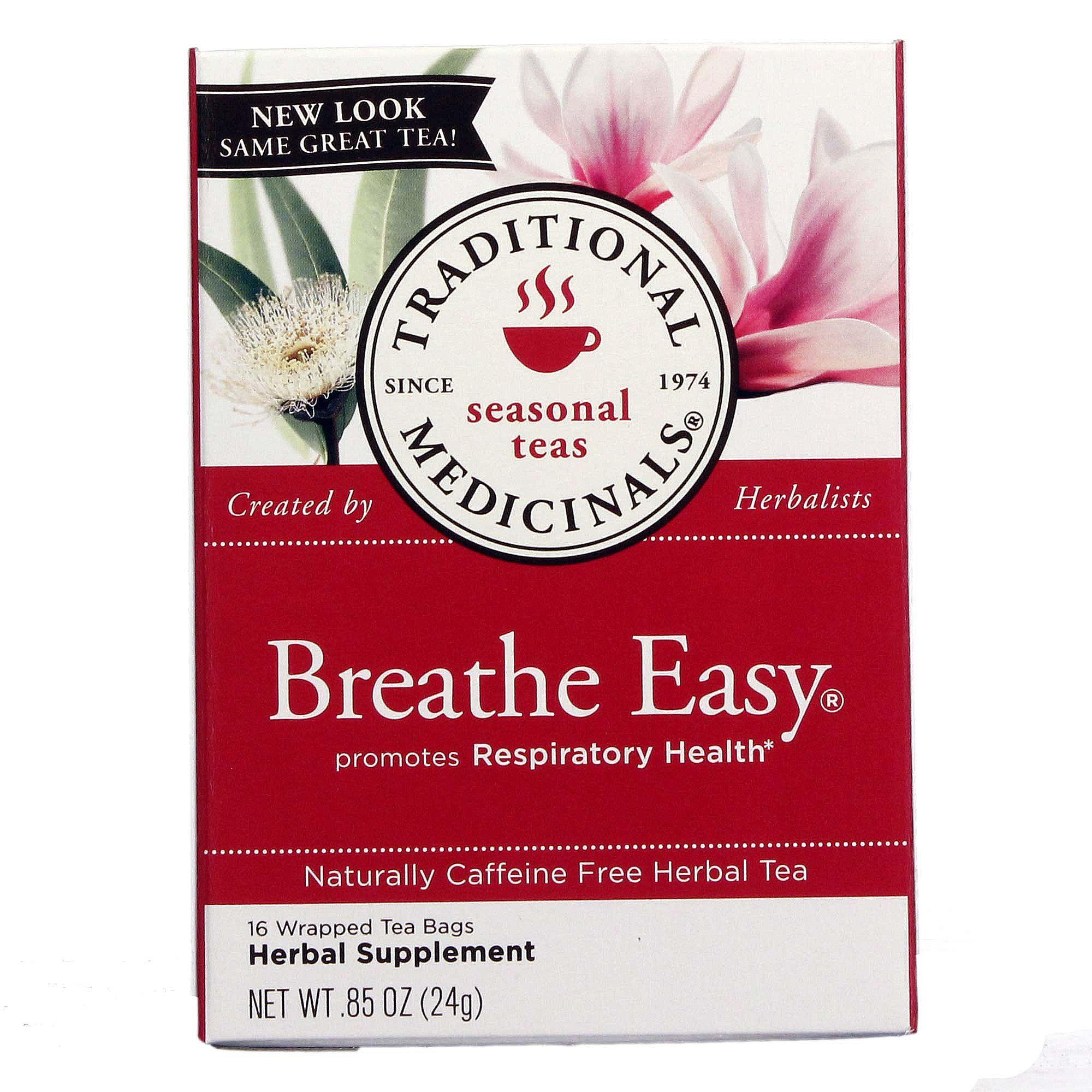 Traditional Medicinals Seasonal Tea, Breathe Easy.