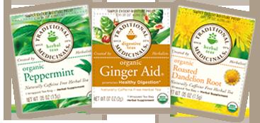 Free Traditional Medicinals Organic Tea Sample.