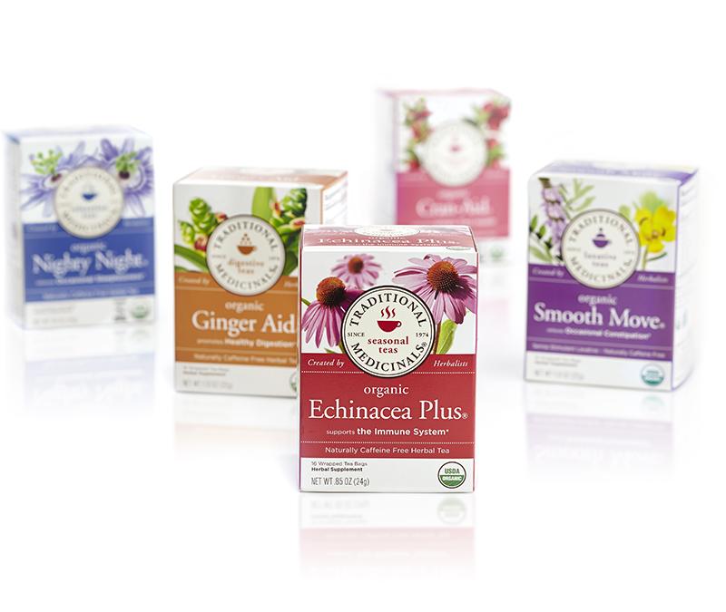 Wellness tea pioneer Traditional Medicinals turns 40.