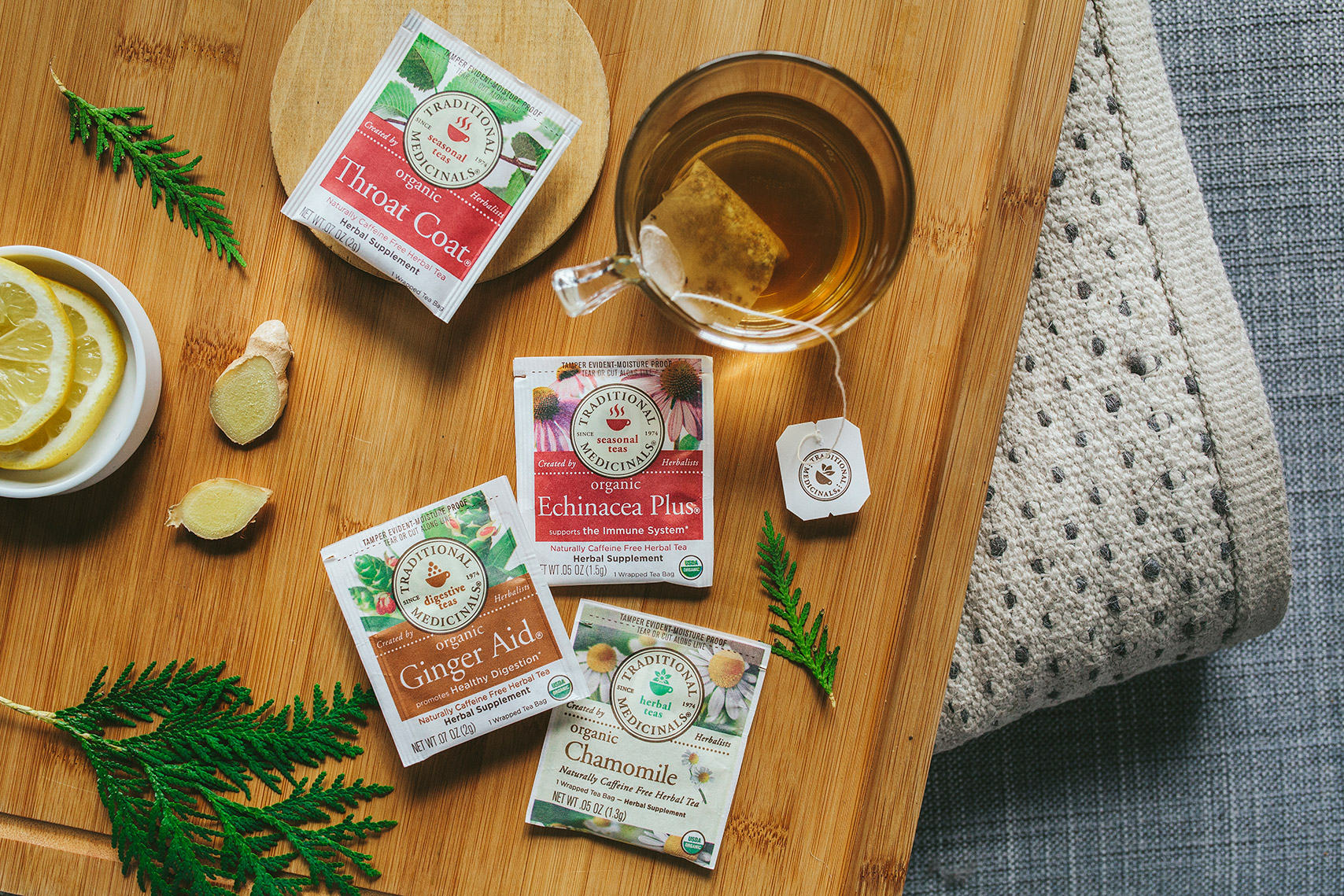Traditional Medicinals: Plant Power for Winter Wellness.