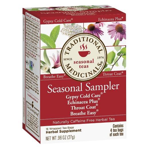 Traditional Medicinals Cold Care Seasonal Sampler 16 ct : Target.
