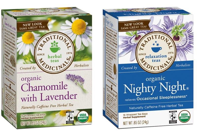 Free Traditional Medicinals Tea sample.
