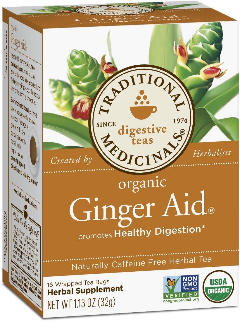 Amazon.com: Traditional Medicinals Organic Ginger Aid Tea, 16 Tea.