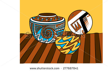 Mexican Pottery Stock Photos, Royalty.