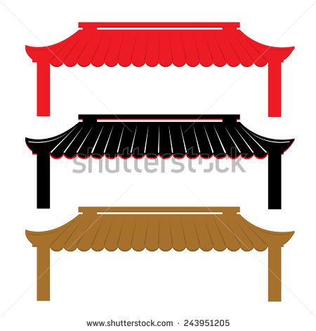 Chinese Roof Stock Photos, Royalty.