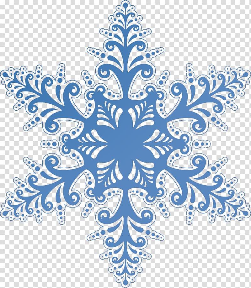 Snowflake , Blue Snowflake transparent background PNG.