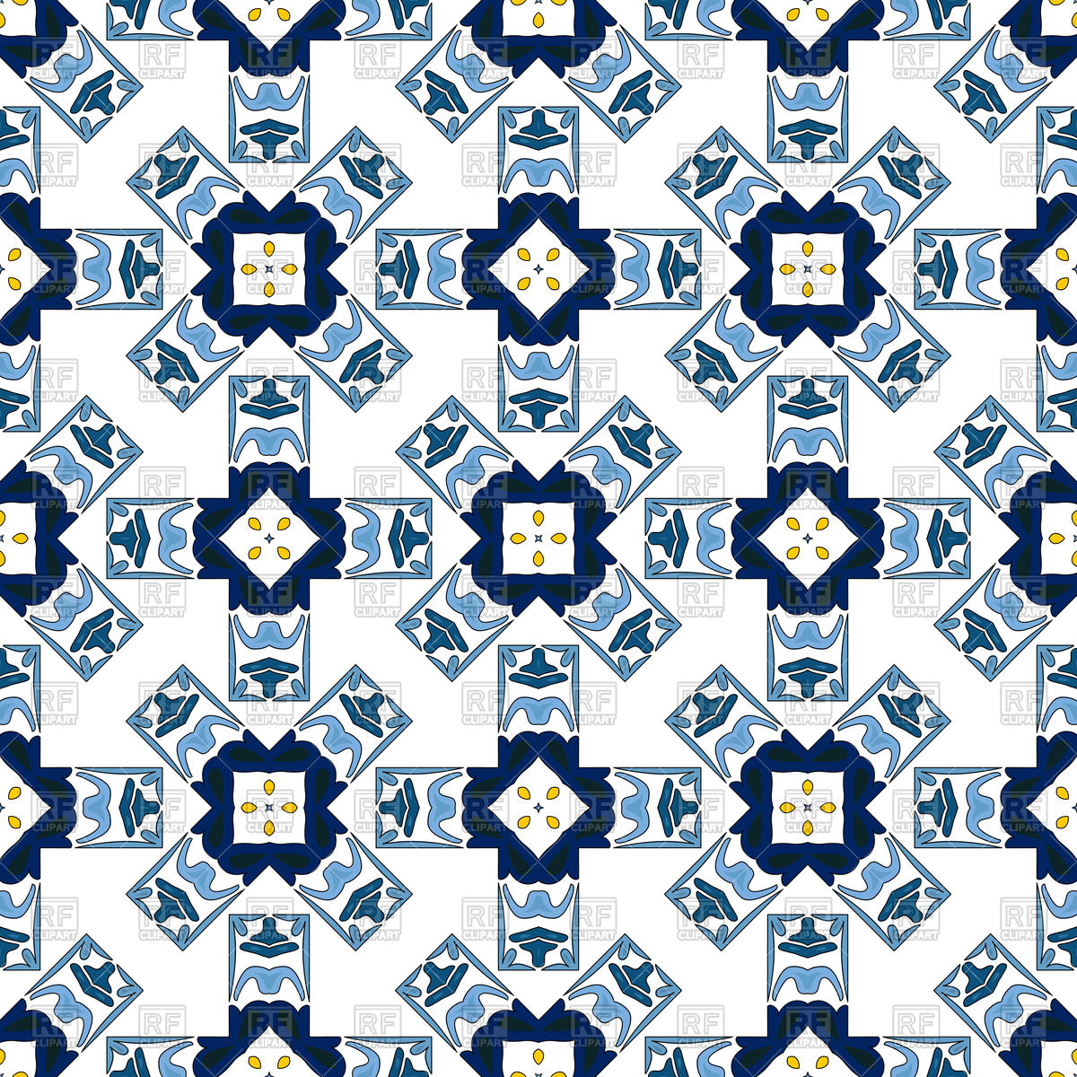 Seamless pattern in traditional style.