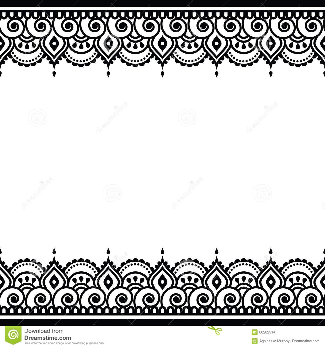 Traditional Clip Art Borders.