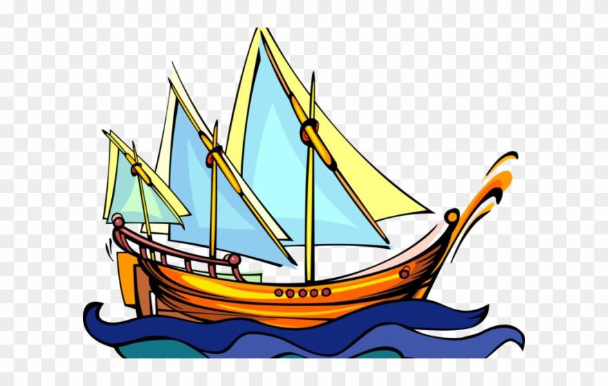 Viking Ship Clipart Traditional.