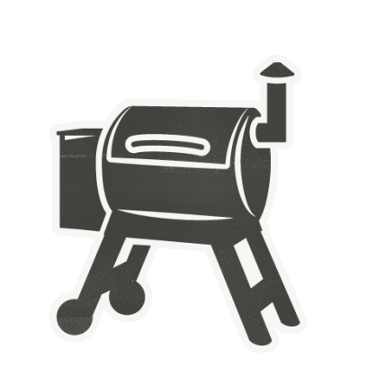 Traeger Grills Stickers by Traeger Pellet Grills.