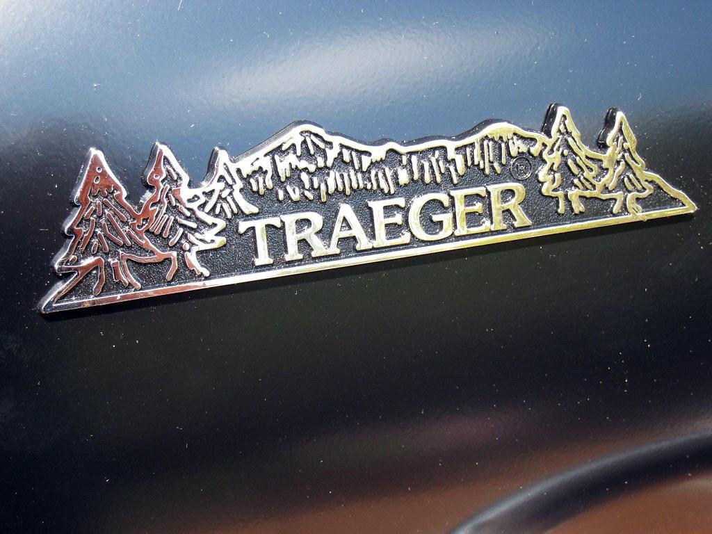 Traeger emblem.