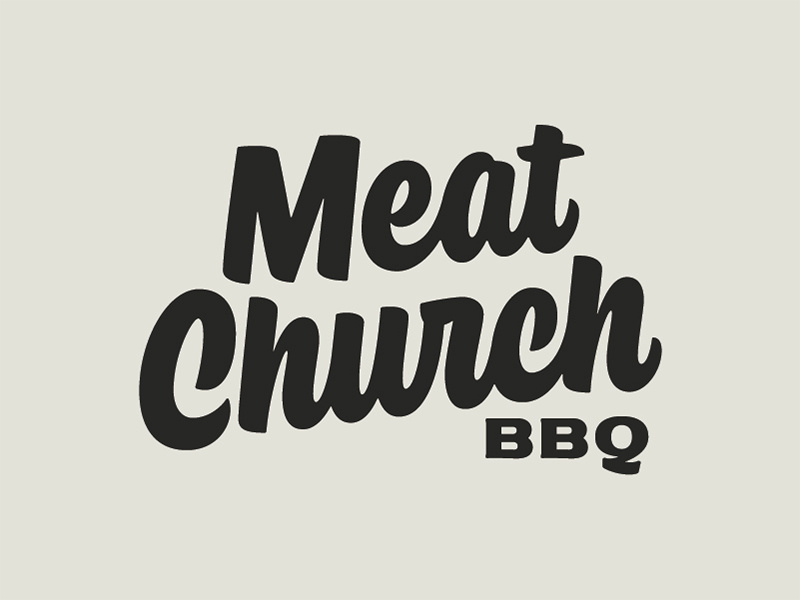 Meat Church Final Logo by Bob Ewing on Dribbble.