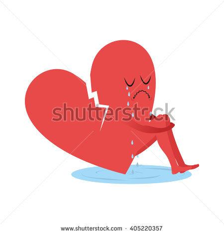 """tearful_heart"""" Stock Photos, Royalty."""