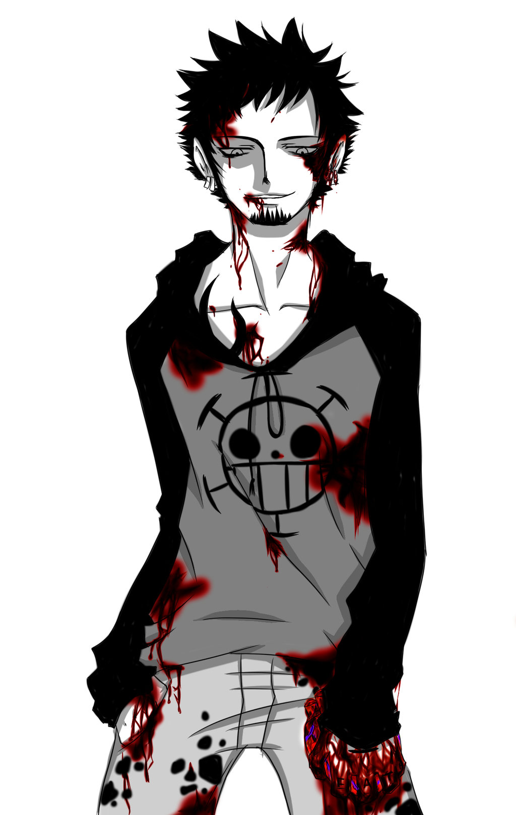 Trafalgar Law Clipart.