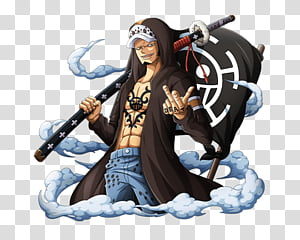 Trafalgar D Water Law transparent background PNG cliparts.