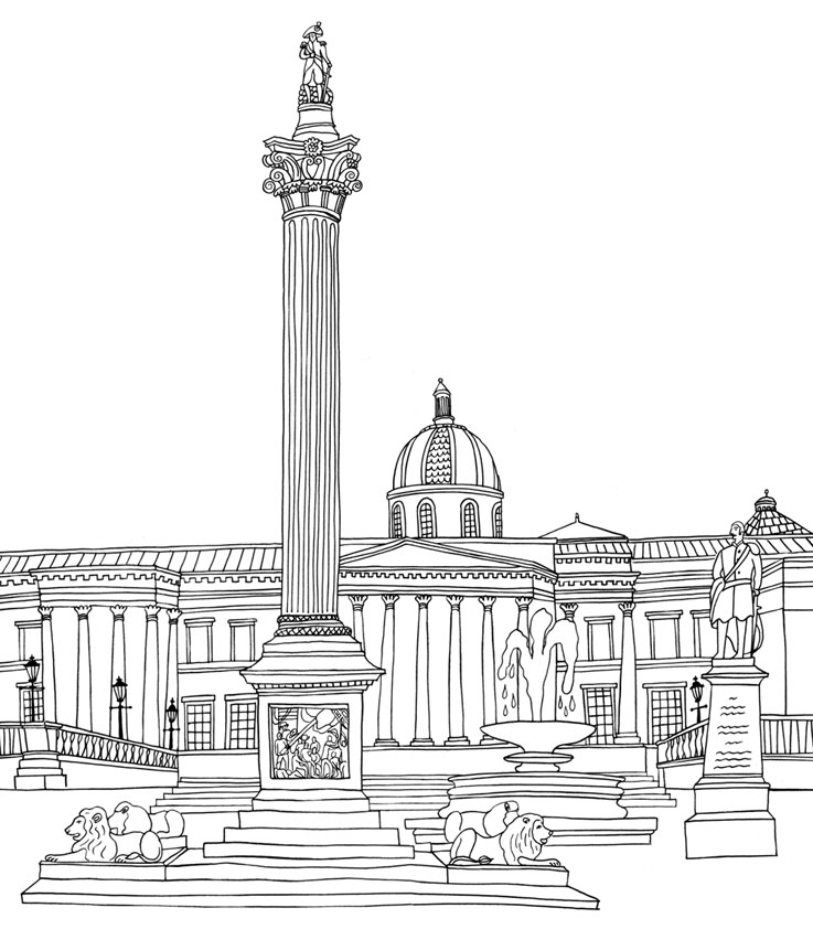 LONDON COLOURING BOOK.
