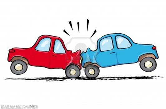 Car accident witness clipart.