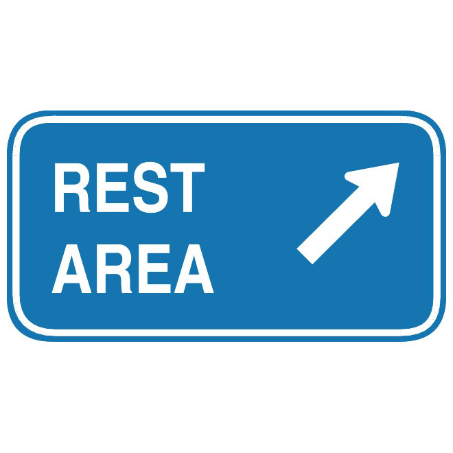 Rest area clipart.