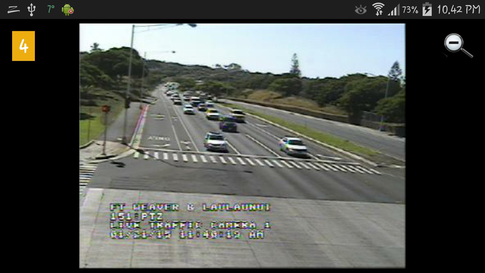 Hawaii Traffic Cameras.