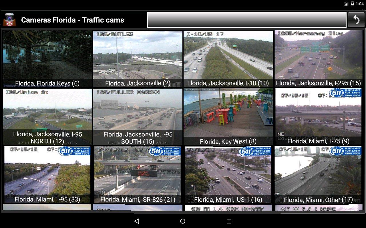 Florida Cameras.