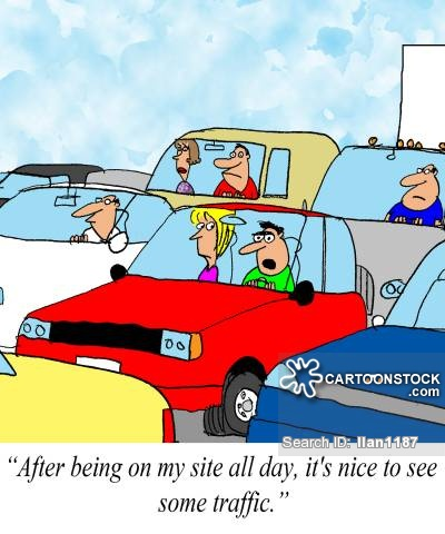 Traffic Jam Cartoons and Comics.