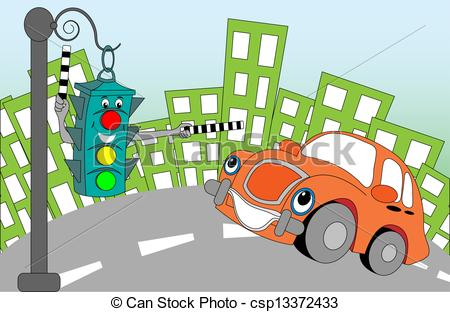 Traffic Clipart Page 1.