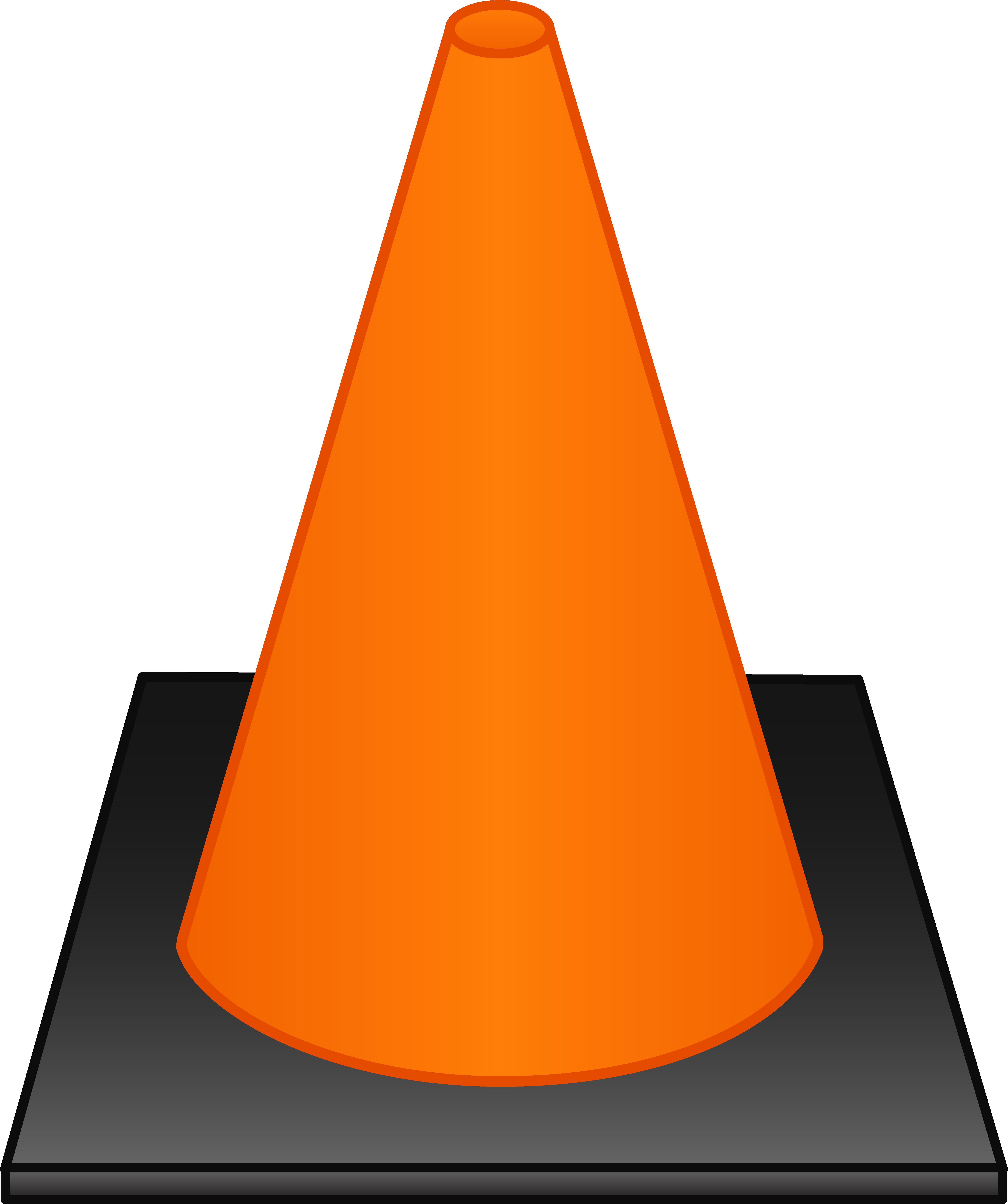Orange Traffic Cone.