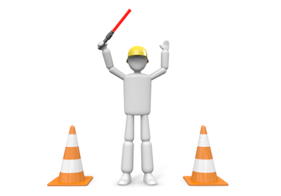 Traffic control clipart.