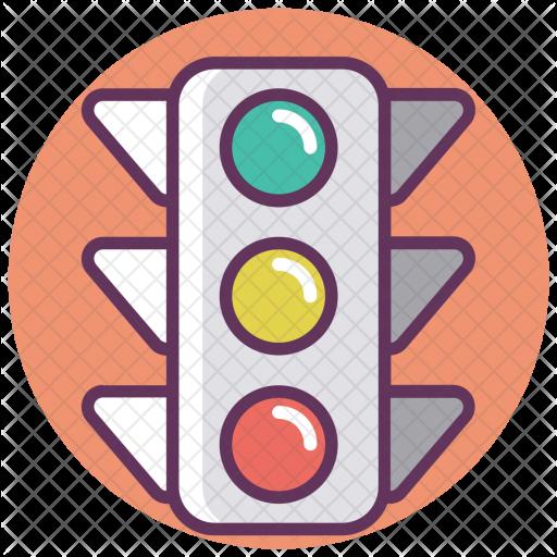 Traffic, Control, Signal Icon.