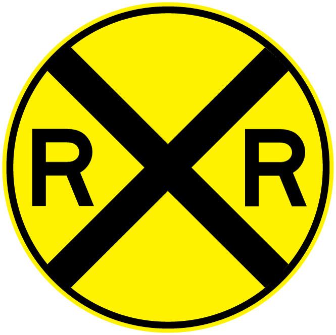 Railroad Signal Clipart.